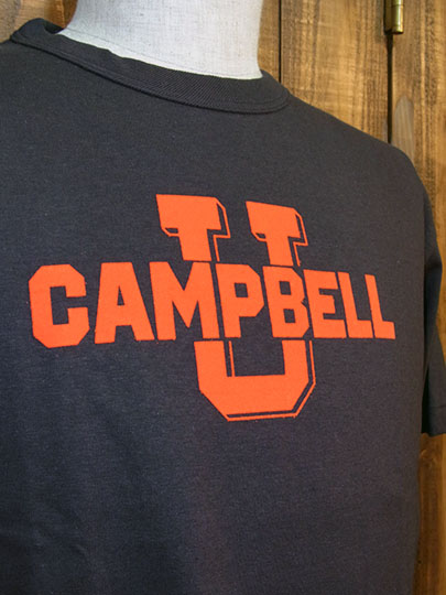 "College Licence Label Tee ""CAMPBELL Univ."""