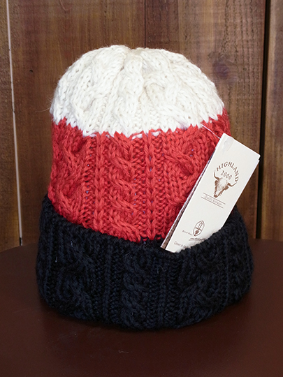 Aran Cable Bob Cap (3color)