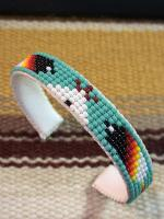 Beads bangle (Turquoise)