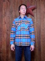 Heavyweight flannel worker's shirts